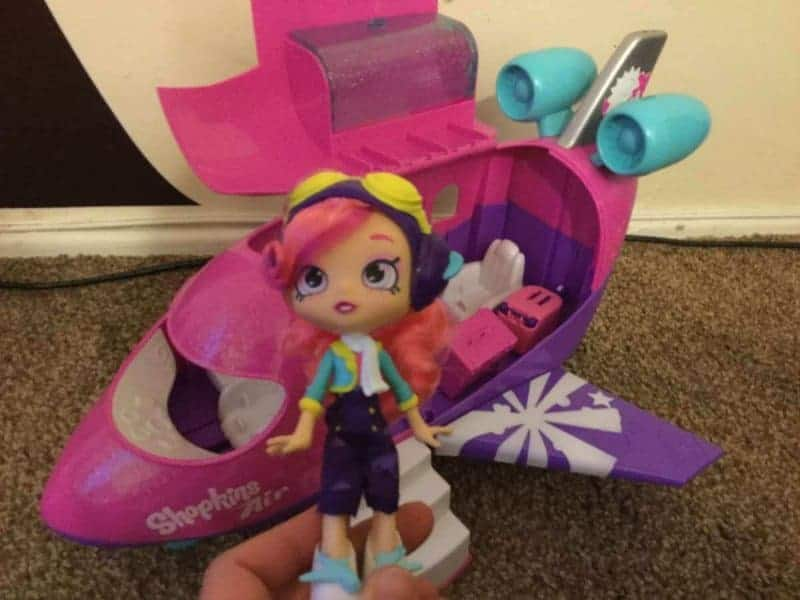 Shopkins Shoppies Skyanna's Jet Playset