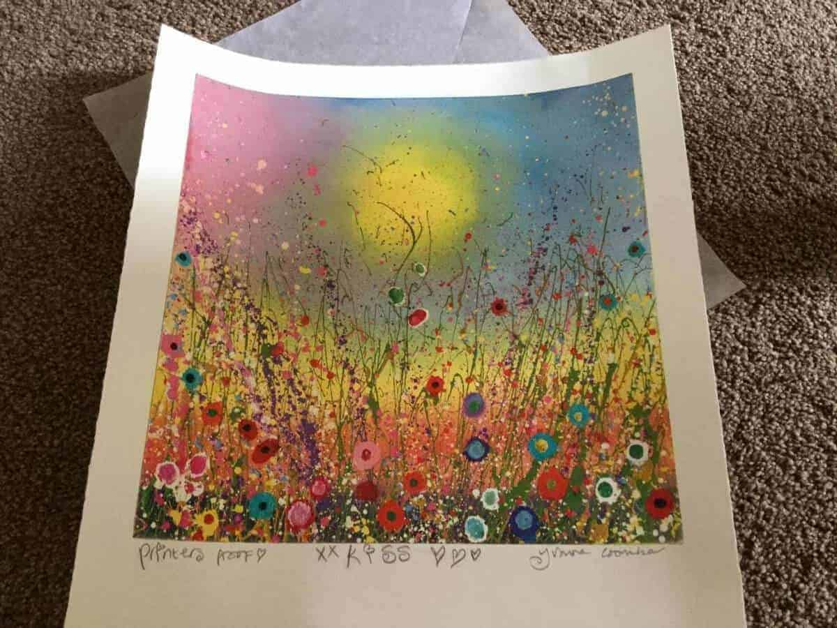 ff108bc80fd Receiving my own art work personally signed by Yvonne Coomber is  mindblowing. I am so so excited. This is going to be framed and placed on  my wall as a ...