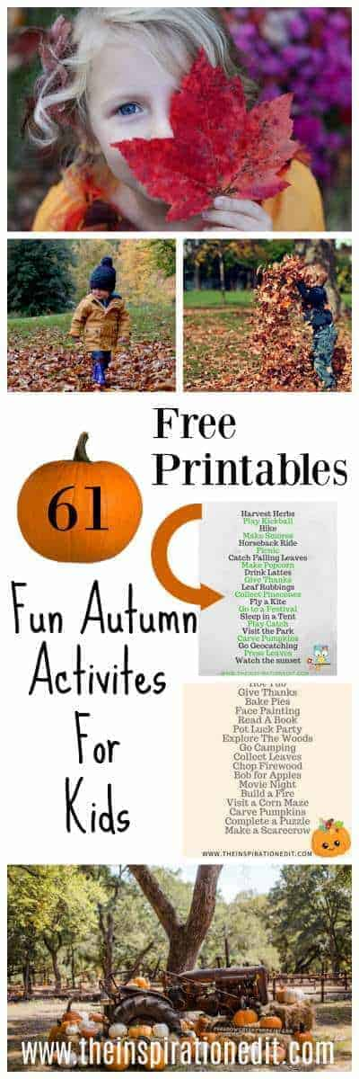 kids autumn activities