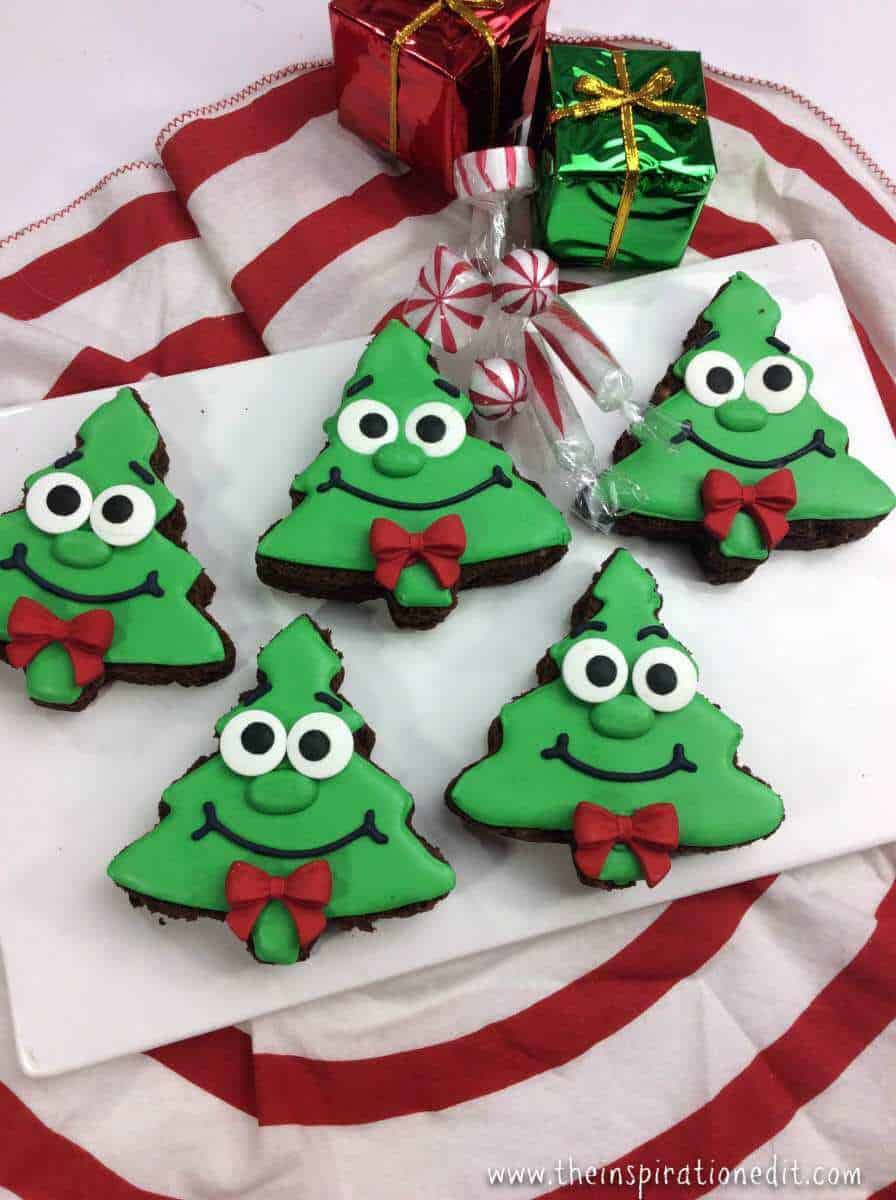 Fun and Funky Christmas Tree Brownies · The Inspiration Edit