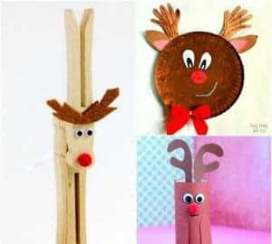 reindeer crafts for preschool kids