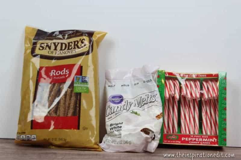 DIY Christmas Pretzels