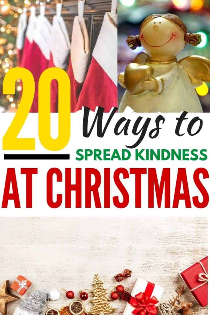 spread kindness at christmas