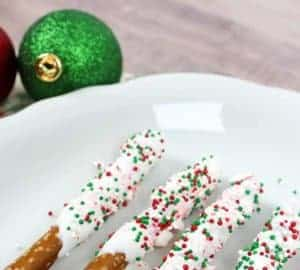 DIY Christmas Pretzels