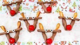 Rudolph Chocolate Pretzels Treats