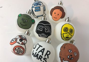 star wars craft ideas for christmas