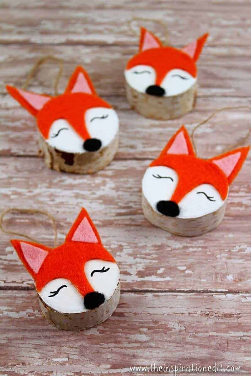 Fox Christmas Craft
