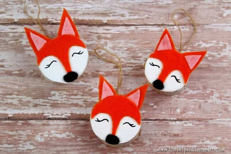 Fox Christmas Craft
