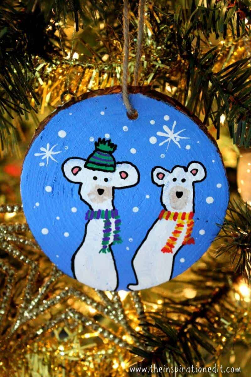 polarbear decoration