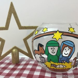 Nativity Fish Bowl