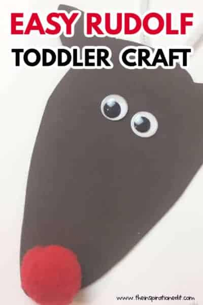 RUDOLF TODDLER CRAFT