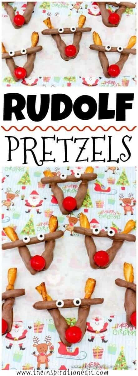 Rudolf christmas party food ideaRudolf