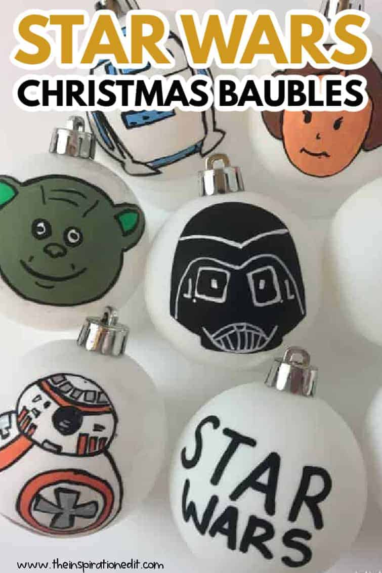 STAR WARS CHRISTMAS BAUBLES