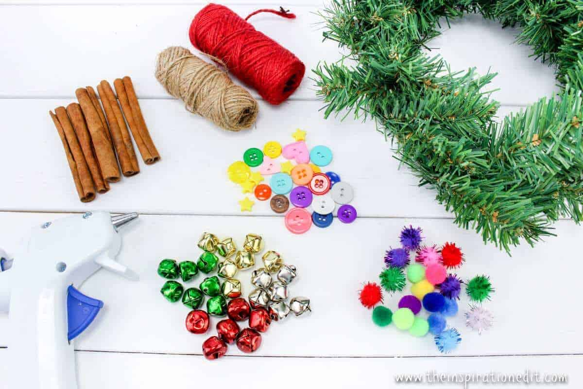 Christmas Tree Ornaments supplies list