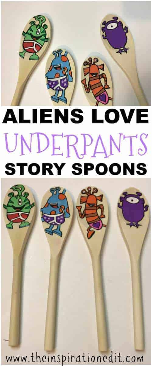 how to make story spoons