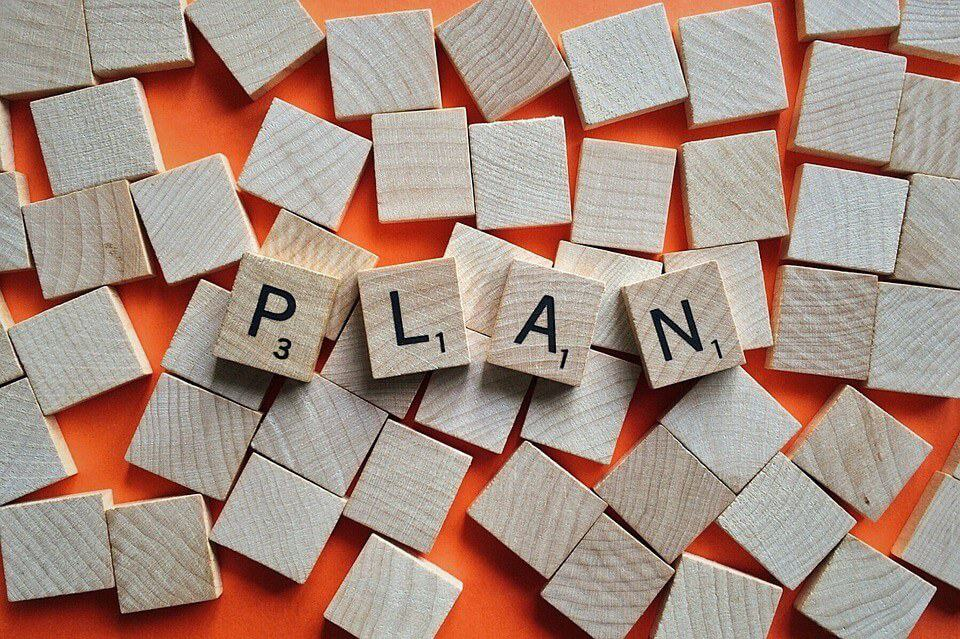 planning and making goals for the new year