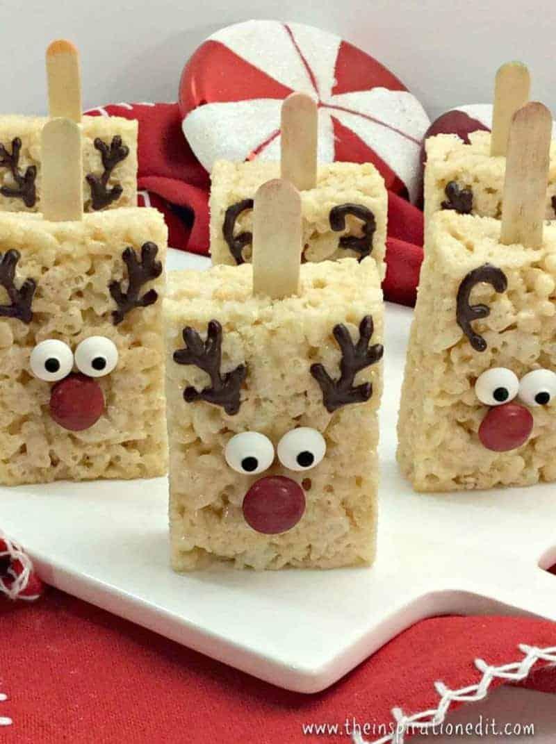 Reindeer Rice Crispy