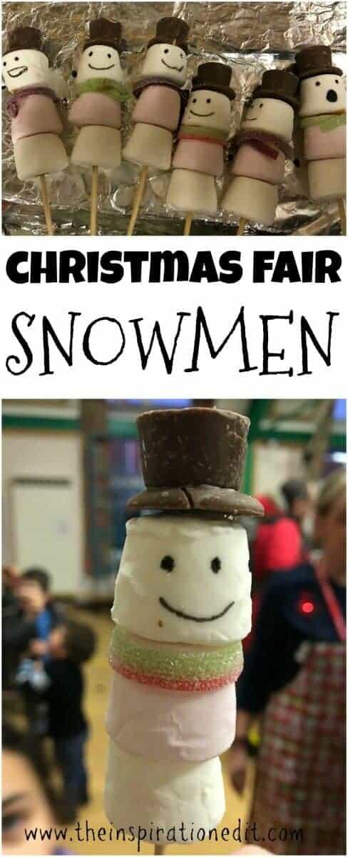 christmas fair snowmen