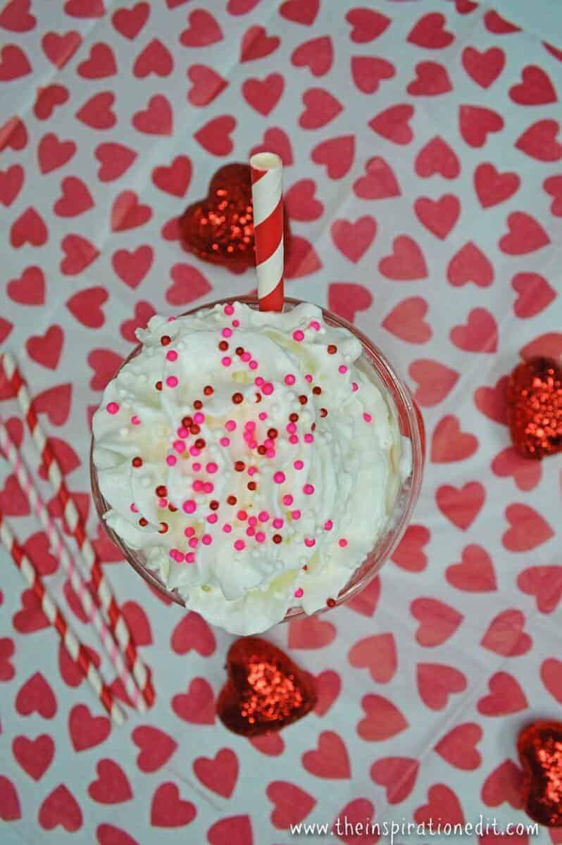 scrumptious valentines float