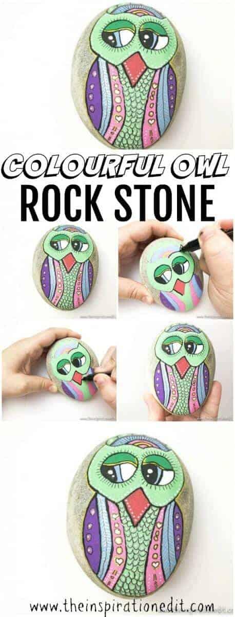 owl rock stone