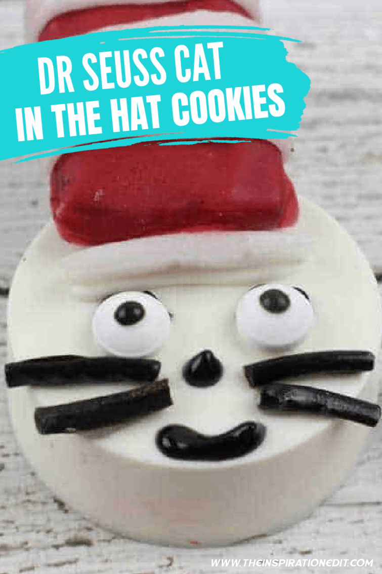 Dr Seuss Cat In The Hat Oreo Cookies