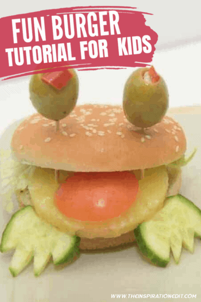 Fun Burger Hack Idea For Kids