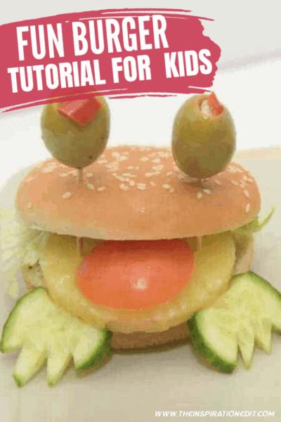 Fun Burger Hack Idea For Kids