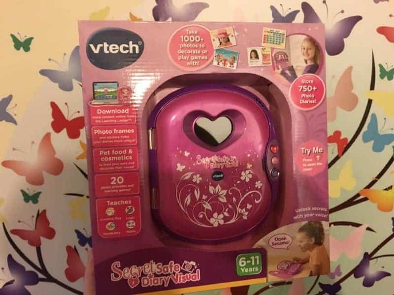 Vtech Secret Safe Diary Visual Review