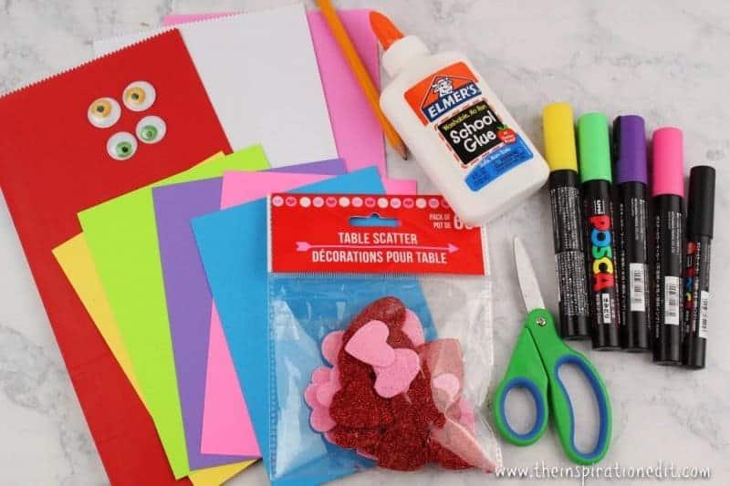 valentines treat bag monster