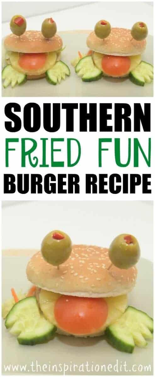 frog burger recipe