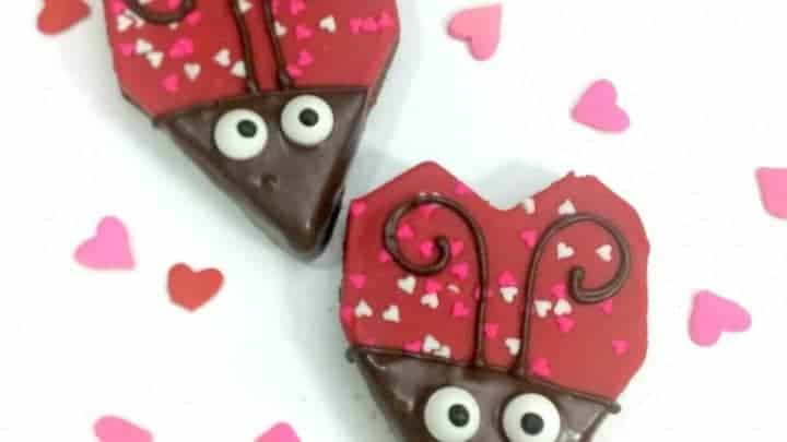Love Bugs Fun Valentines Day Food Idea
