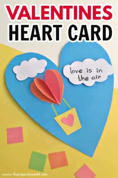 valentines heart card