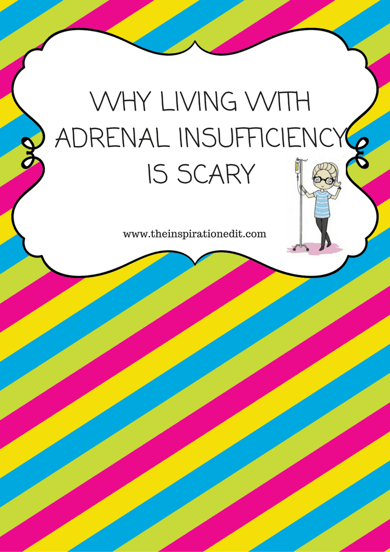 adrenal insufficiency is scary