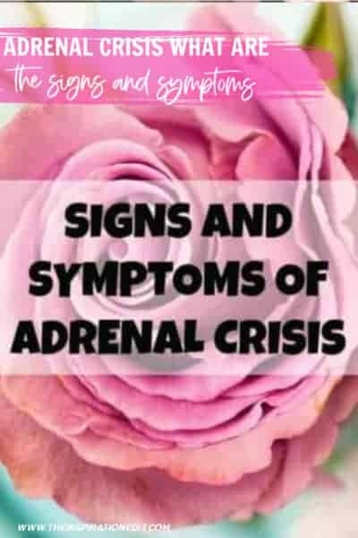 Adrenal Crisis What Are The Signs and Symptoms