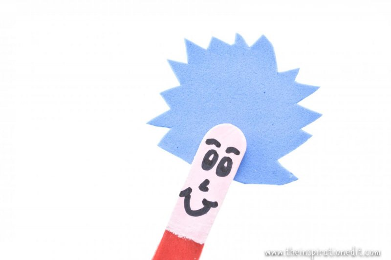 dr seuss stick puppets