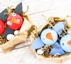 birds nest craft