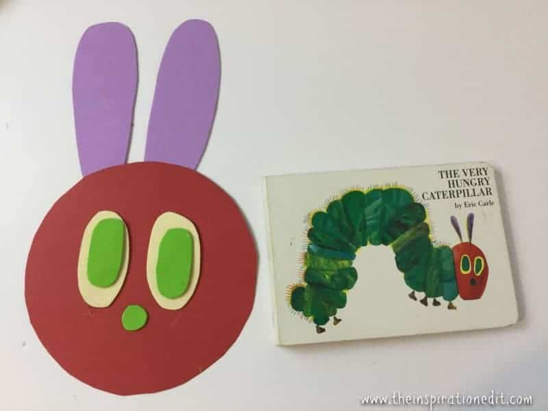 the very hungry caterpillar craft