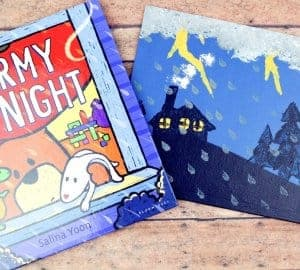 stormy night children's book craft