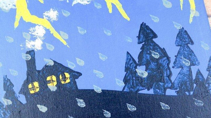 stormy night children's book craft