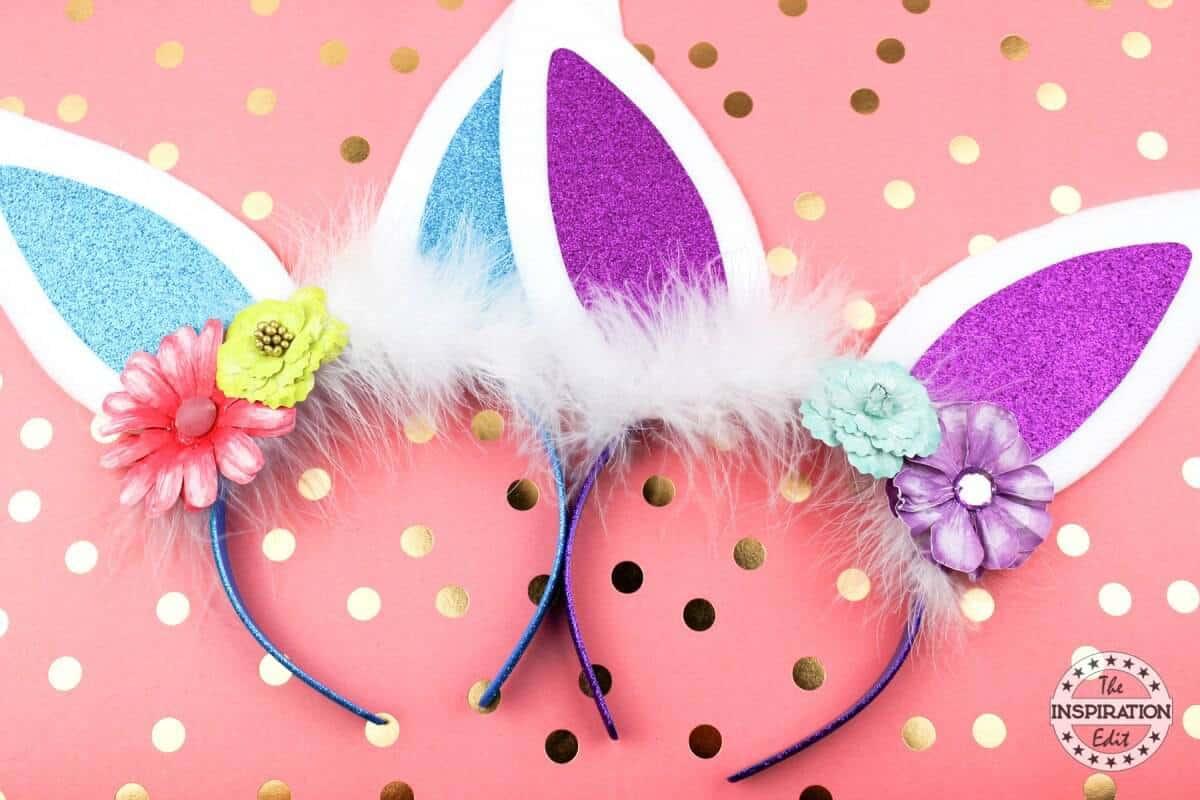 funky bunny ears headband