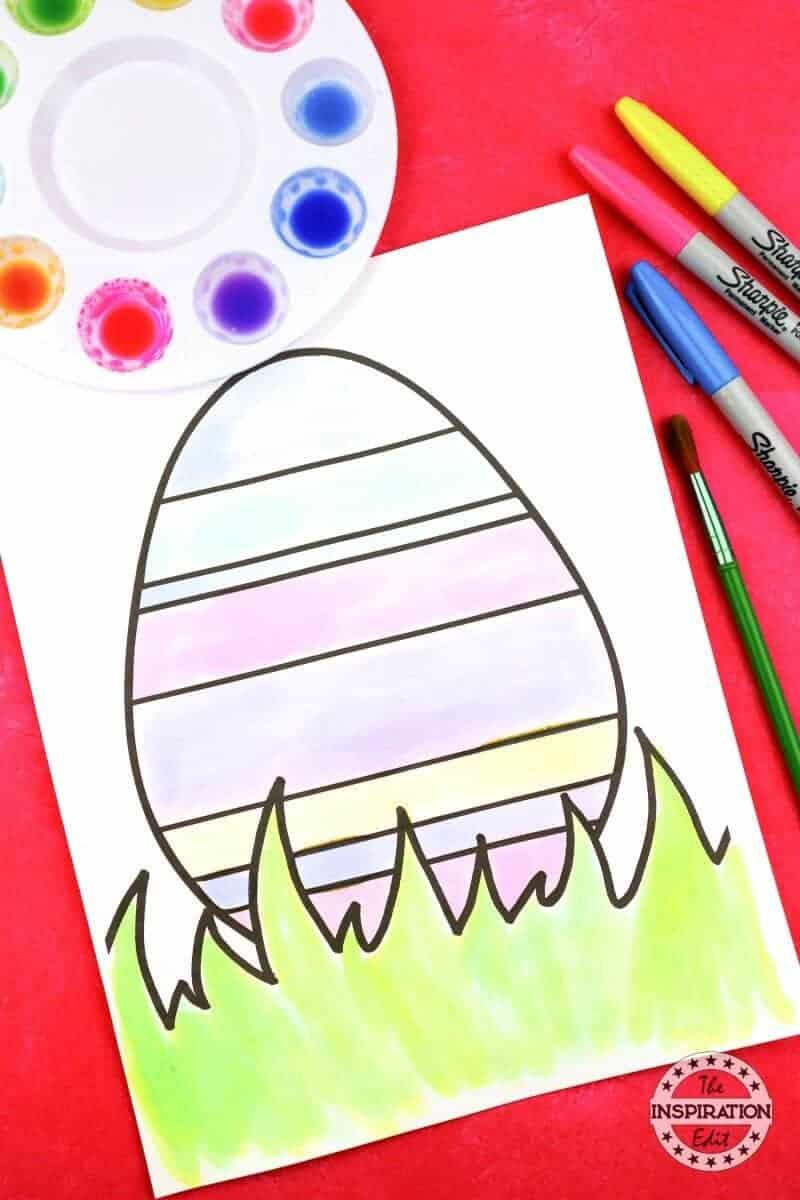 Easter Egg Art Fun