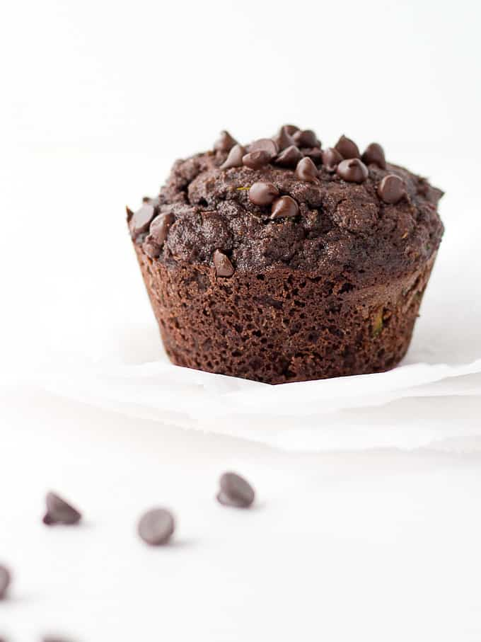 Instant-Pot-low-carb-chocolate-zucchini-muffins