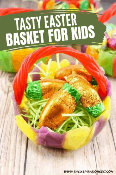 Tasty DIY Easter Baskets For Kids
