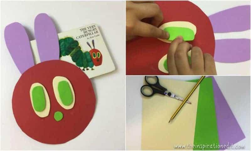 the very hungry caterpillar craft