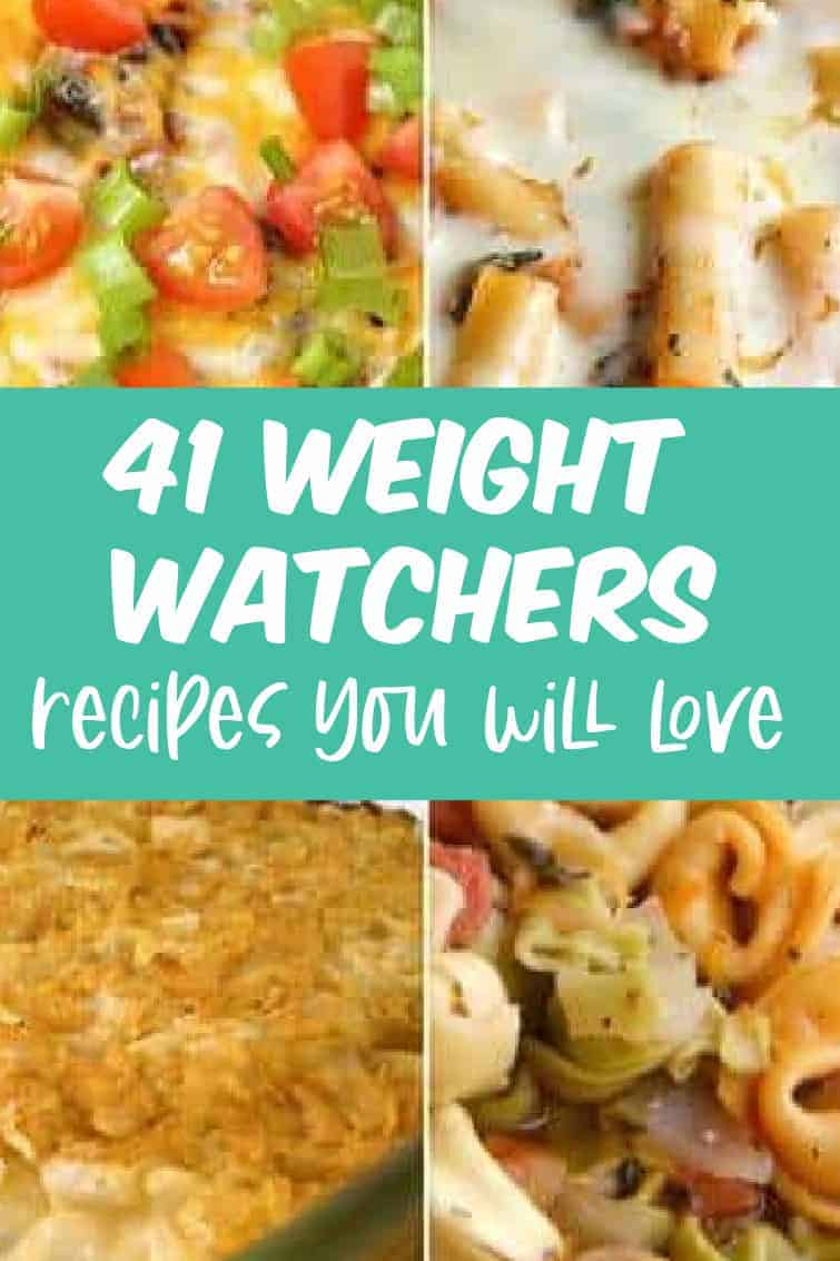41 weight watchers recipes to try