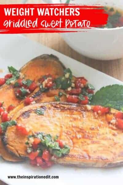 griddled sweet potato