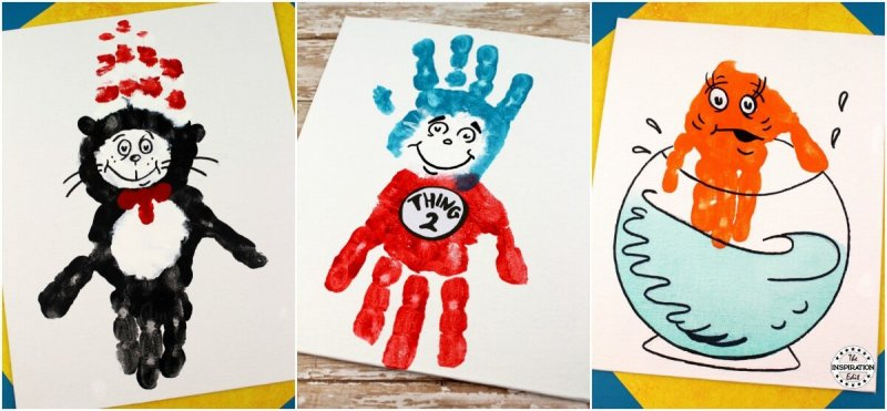The Lorax handprint