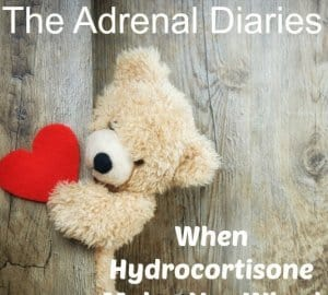 hydrocortisone makes me wired