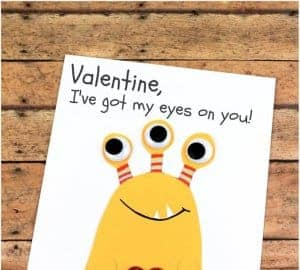 fun valentines card