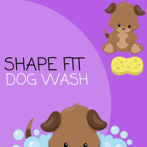 dog shape template